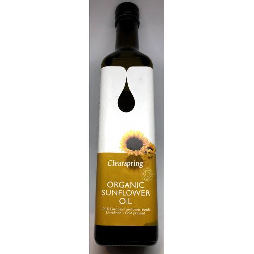 Clearspring Organic Sunflower Oil
