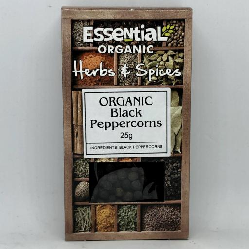 Organic Black Peppercorns