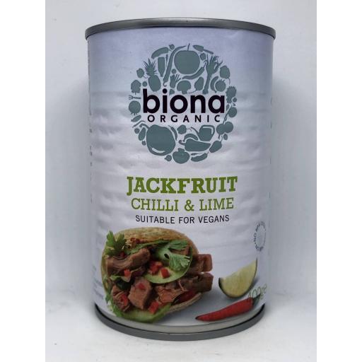 Biona Jackfruit Chilli & Lime